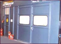 Side Exhaust Down-Draft Spray Booths